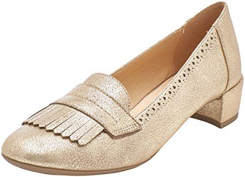 Zapatos de Mujer Geox de tacón Dorado Carey, talla 38 EU