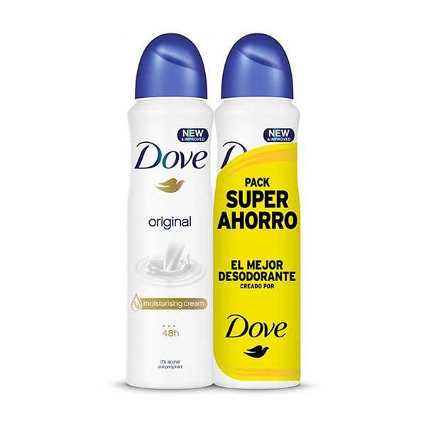 Pack x2 Dove desodorante Original
