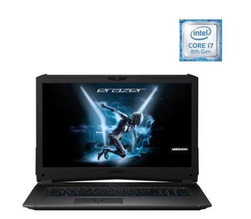 Portátil Gaming Medion ERAZER X7861 MD61413 ES, i7, 16 GB, 512 GB, GTX 1070 8GB