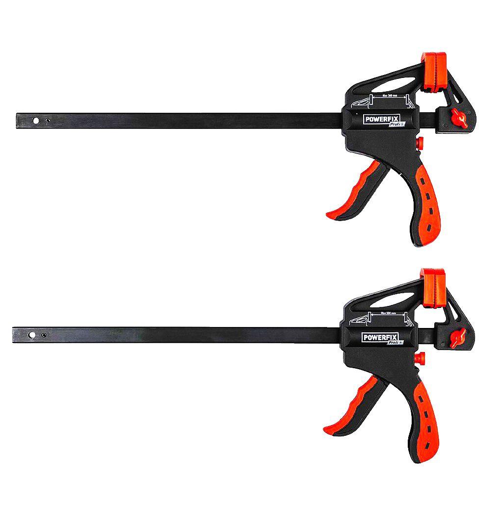 X2 y X4 Sargentos monomanuales dos modelos