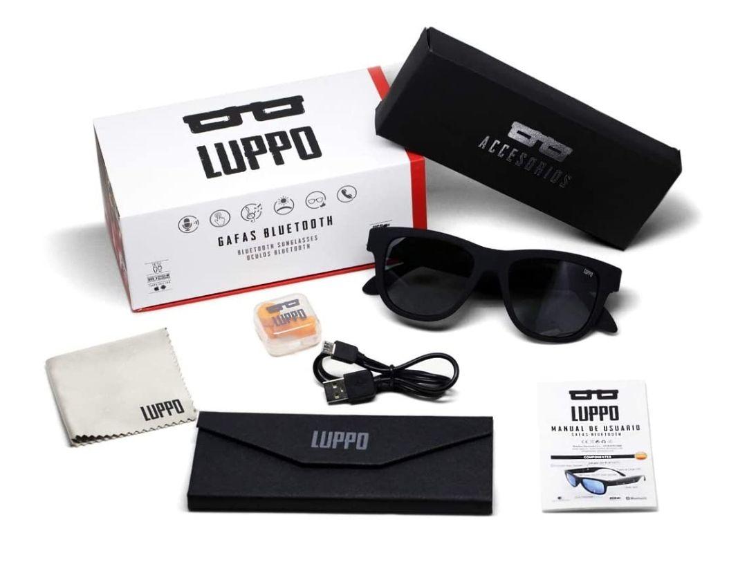 Gafas de Sol Polarizadas con Auriculares Bluetooth de Conducción ósea