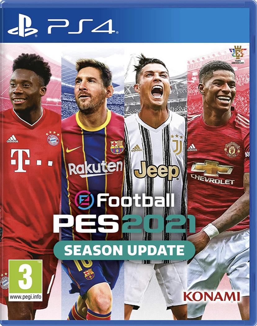 eFootball PES 2021 PS4 Físico