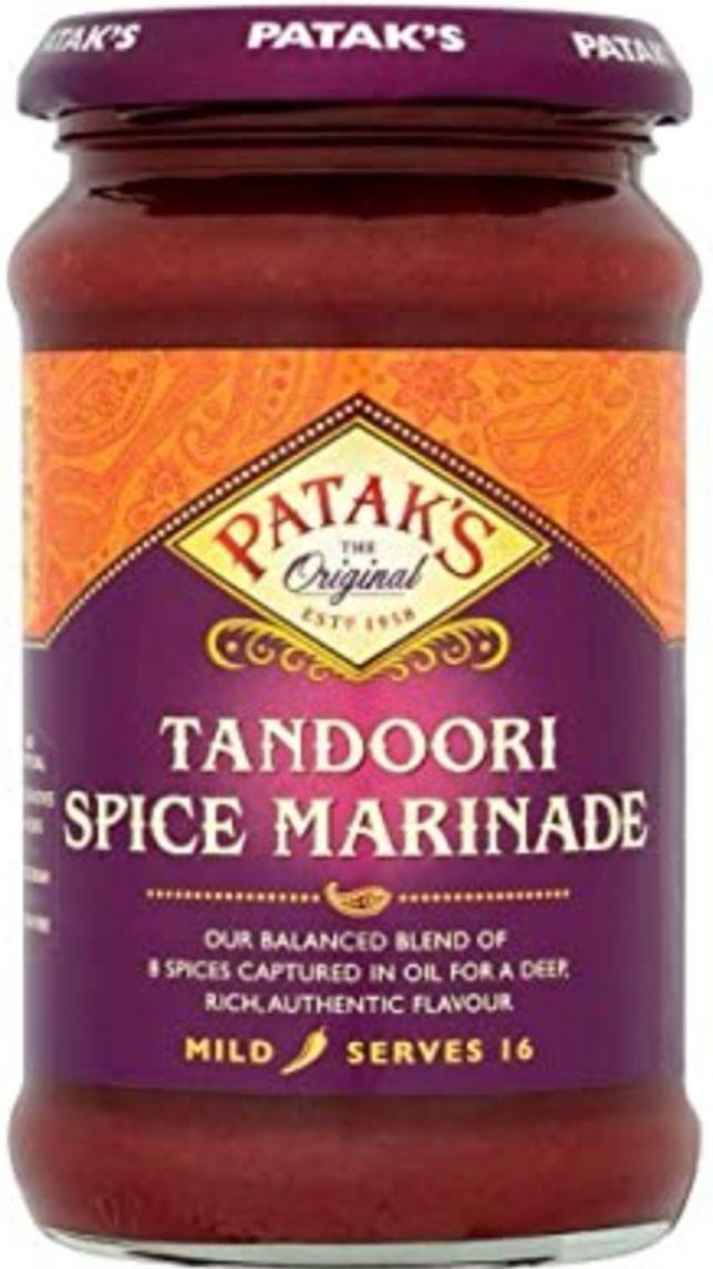 [PACK DE 6] Pataks Paste Tandoori Spice Marinade 283 g