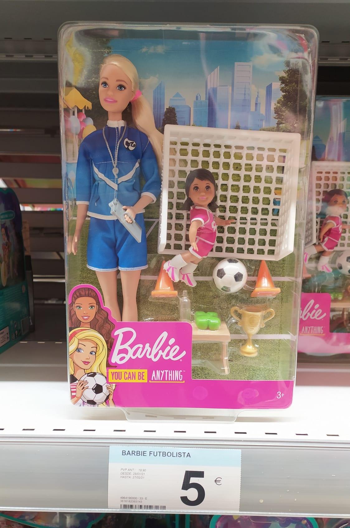 Barbie entrenadora de futbol (Carrefour Majadahonda)