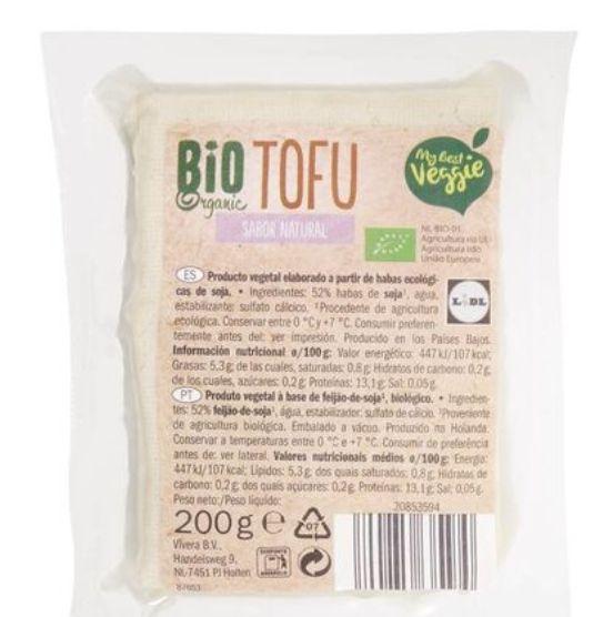 Tofu sabor natural 0,79€