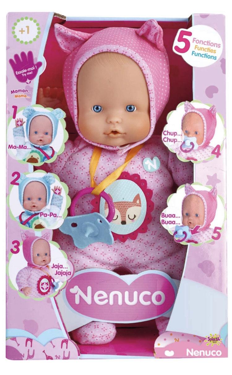 Nenuco de Famosa- 700014781 Muñeco Blandito 5 funciones