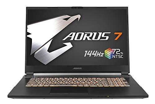 """Gigabyte AORUS 7 KB-7ES1130SD - Ordenador portátil de 17.3"""" i7-10750H, 16GB RAM, 512GB SSD, Nvidia RTX2060"""