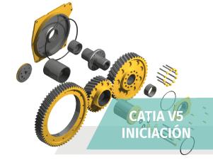 Curso Iniciación al Diseño Industrial con Catia V5