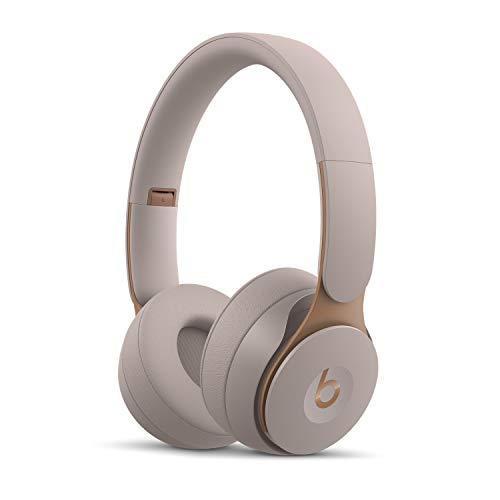 Beats Solo Pro con cancelación de Ruido - Auriculares inalámbricos - Chip Apple H1, BT de Clase 1, 22 Horas Bateria - Gris