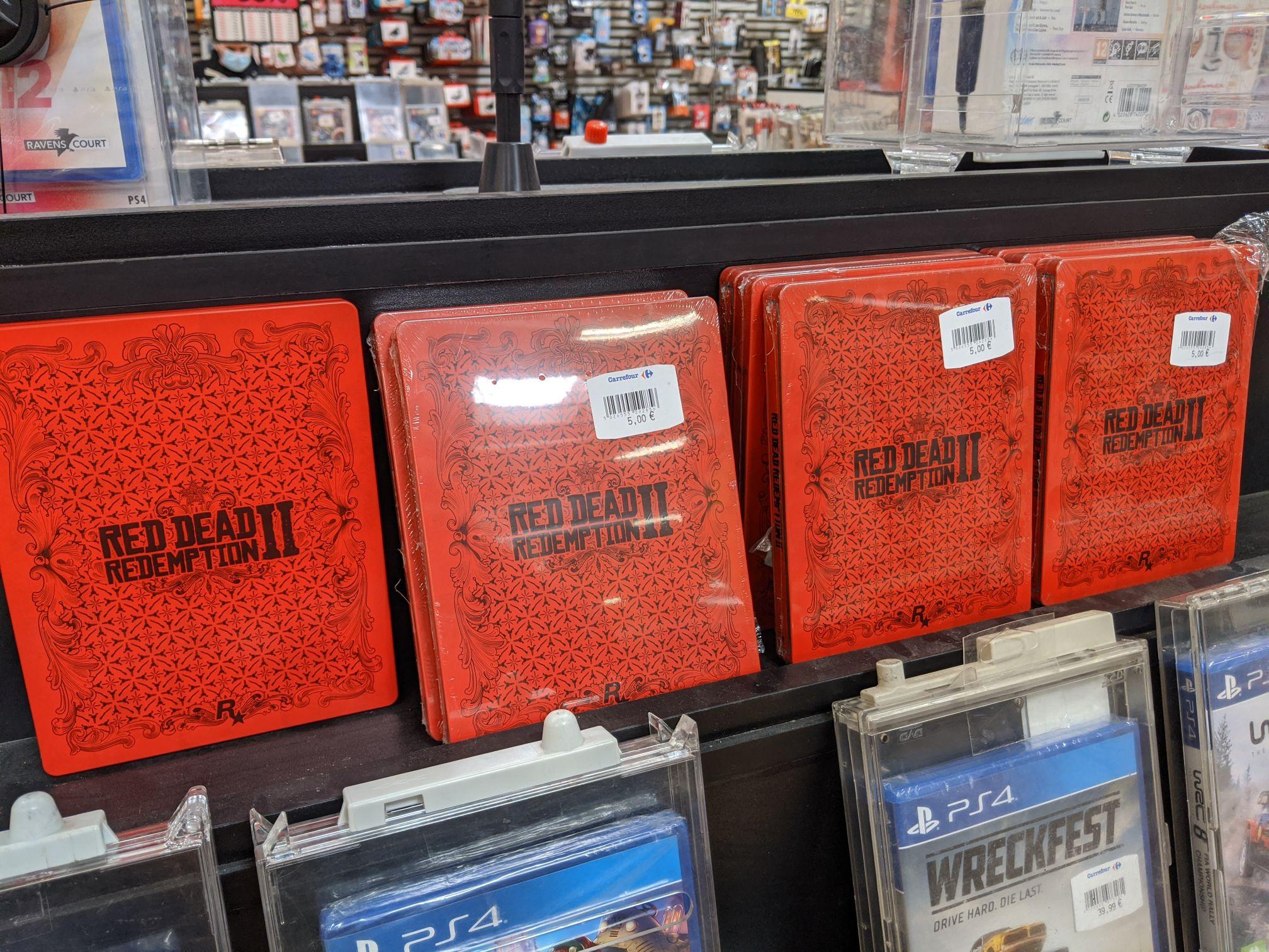 Steelbook Red Dead Redemption 2 Murcia