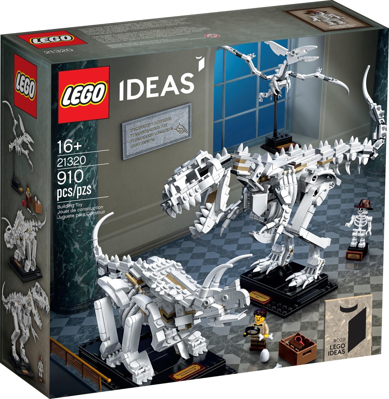 LEGO Ideas 21320 Fósiles de Dinosaurio (y otros)