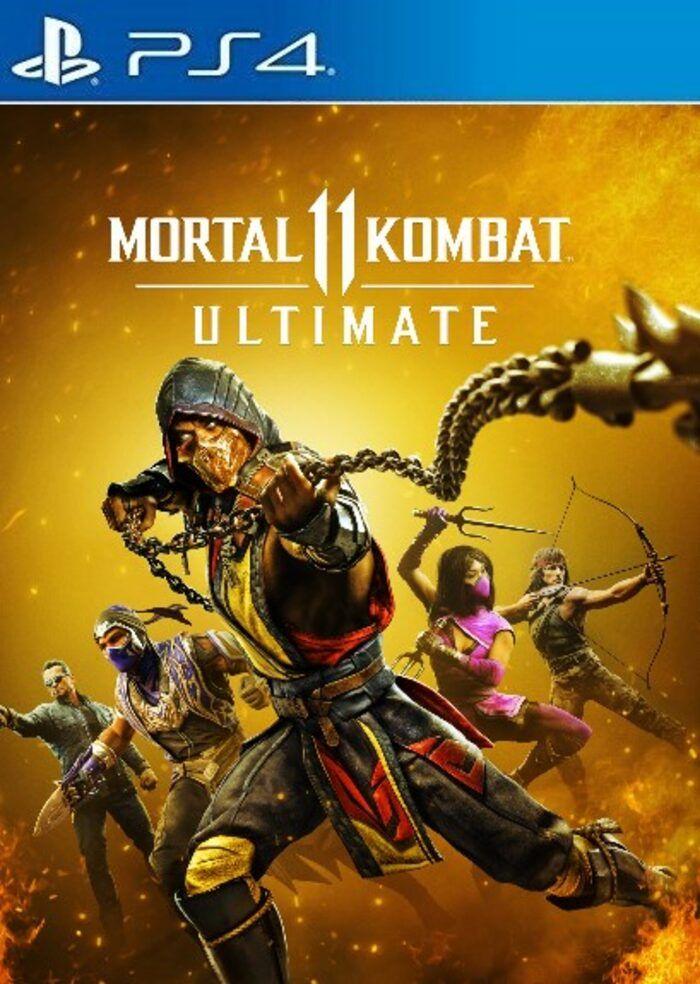 Key Mortal Kombat 11 Ultimate PS4 PS5 (Todos los DLCs)