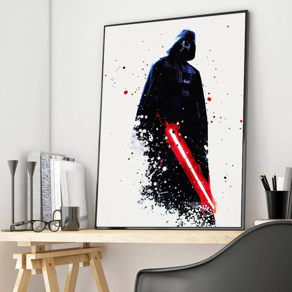 Dark Vader invader tu habitación