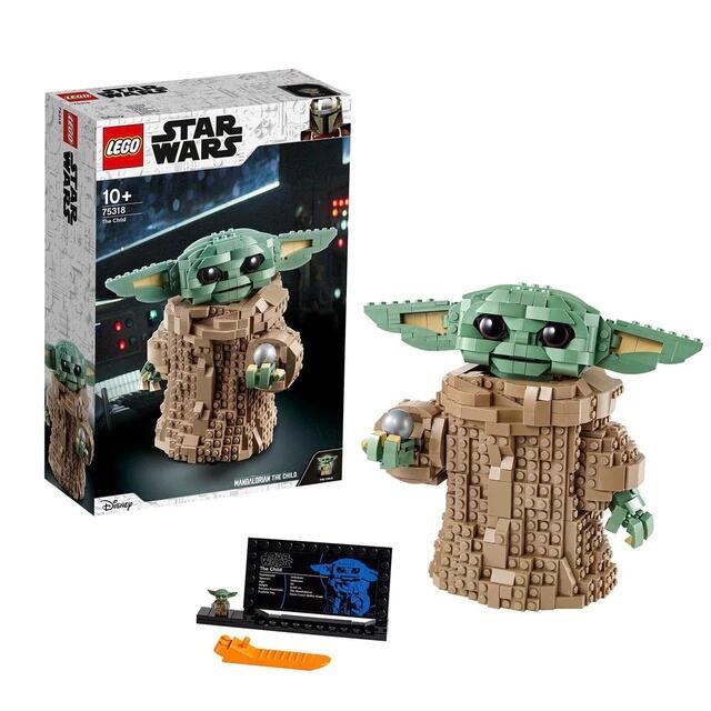 Lego baby Yoda Aliexpress Plaza España
