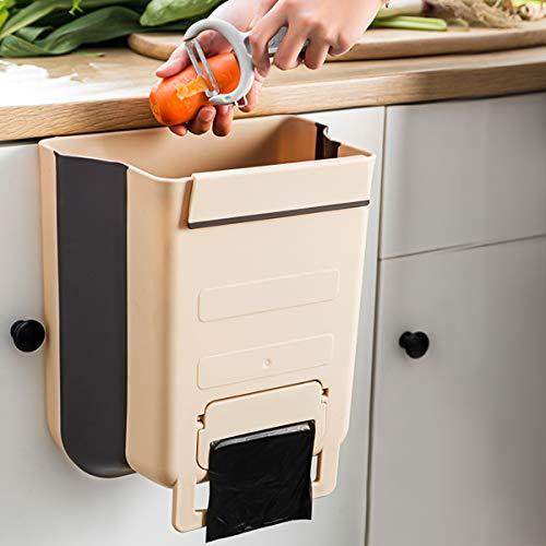 Cubo de basura Colgante con Contenedor de bolsa