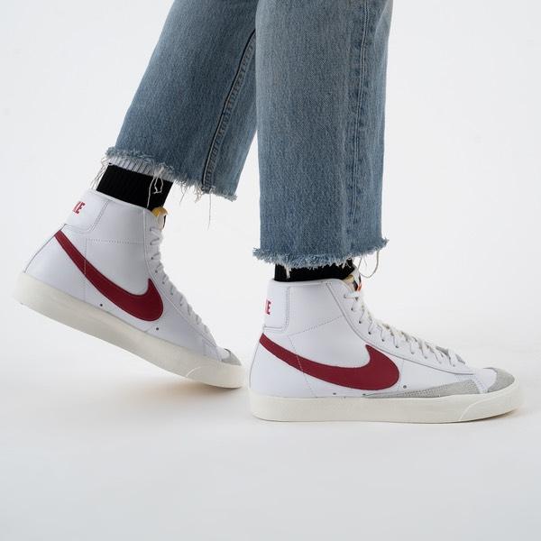 Nike Blazer Mid 77 Blanco/Rojo