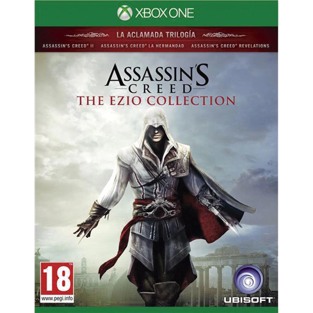 """XBOX ONE: Assassin´s Creed """"The Ezio Collection"""" ( Trilogía Creed II, La Hermandad y Revelations + DLCs + Cortos)"""