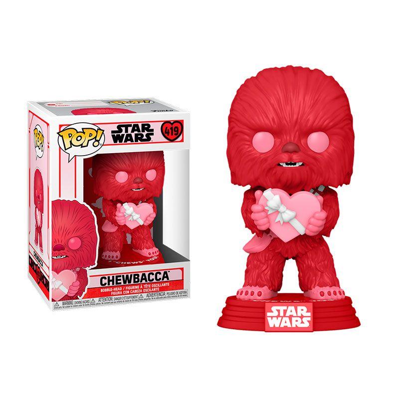Funko Pop Chewbacca 419 San Valentin Star Wars