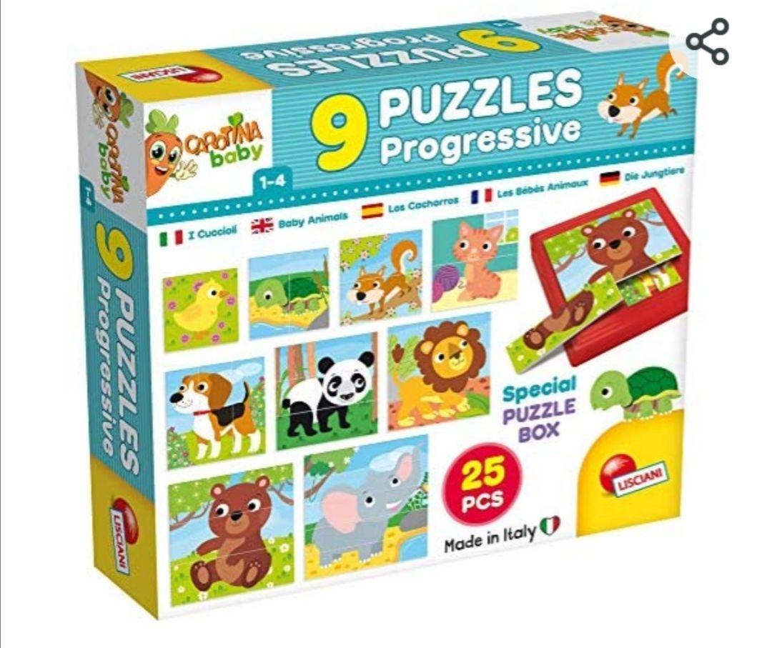 9 Puzzles progresivos para bebés