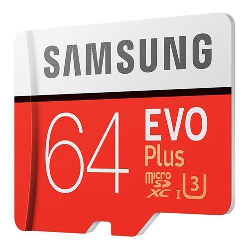 Tarjeta microSD de clase 10, marca Samsung Evo Plus, 64 Gb