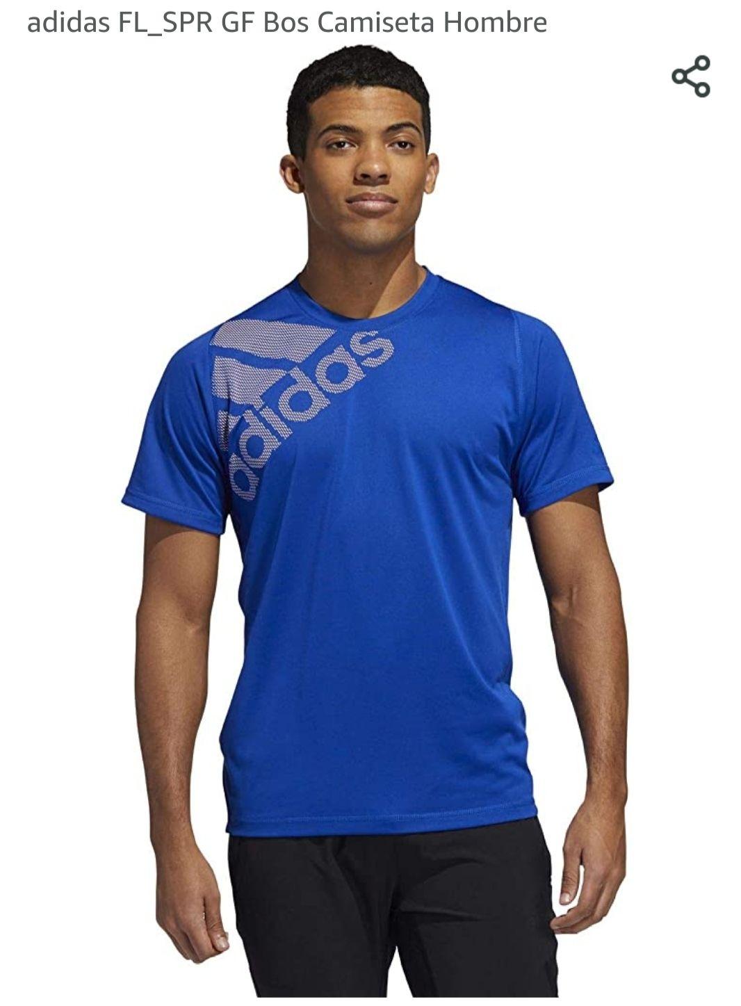 Adidas camiseta hombre (Talla S en azul y roja)
