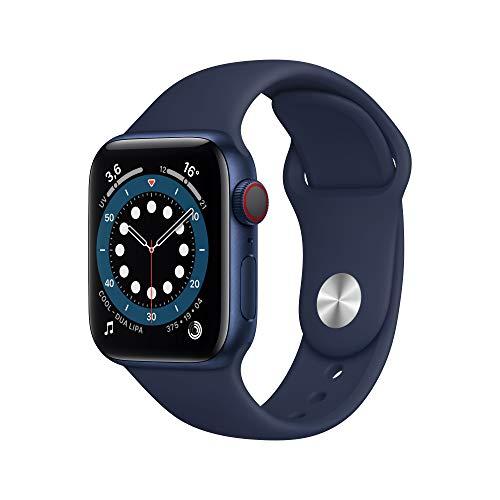 Apple Watch Series 6 (GPS + Cellular, 40 mm) Caja de Aluminio en Azul