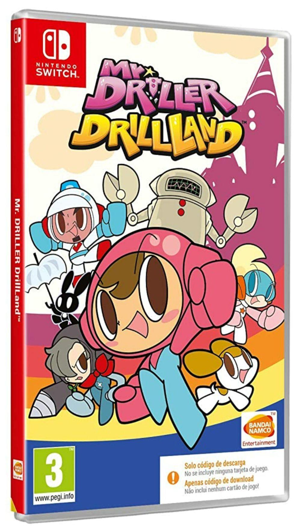 Mr. Driller Drilland (Switch)