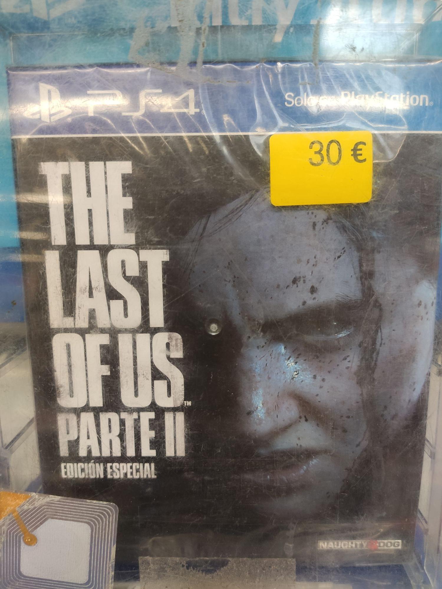 Last of us 2 edición especial ps4 carrefour plaza Norte 2