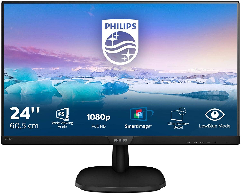"""Philips 24"""" SmartContrast IPS solo 99€"""