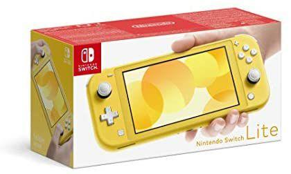 Nintendo Switch Lite Amarilla a 173,6€ // Gris a 178,88€ (envío incluido)