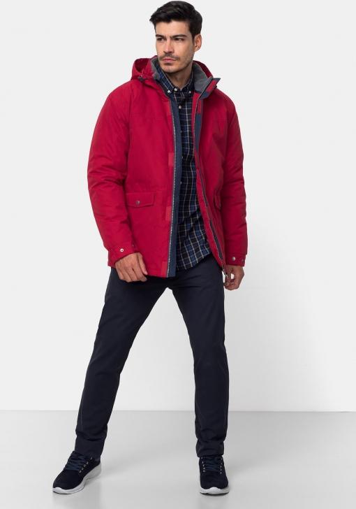 Parka con capucha y relleno sostenible para Hombre