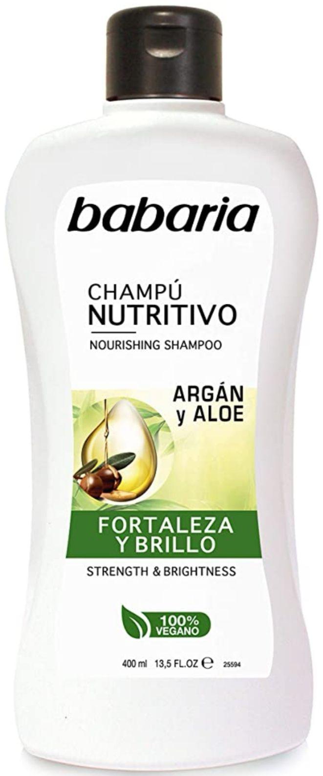 Babaria Champú Nutritivo Aloe Vera - 400 ml