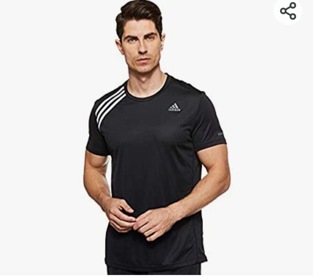 adidas Own The Run tee Camiseta Hombre Sólo Talla M !!