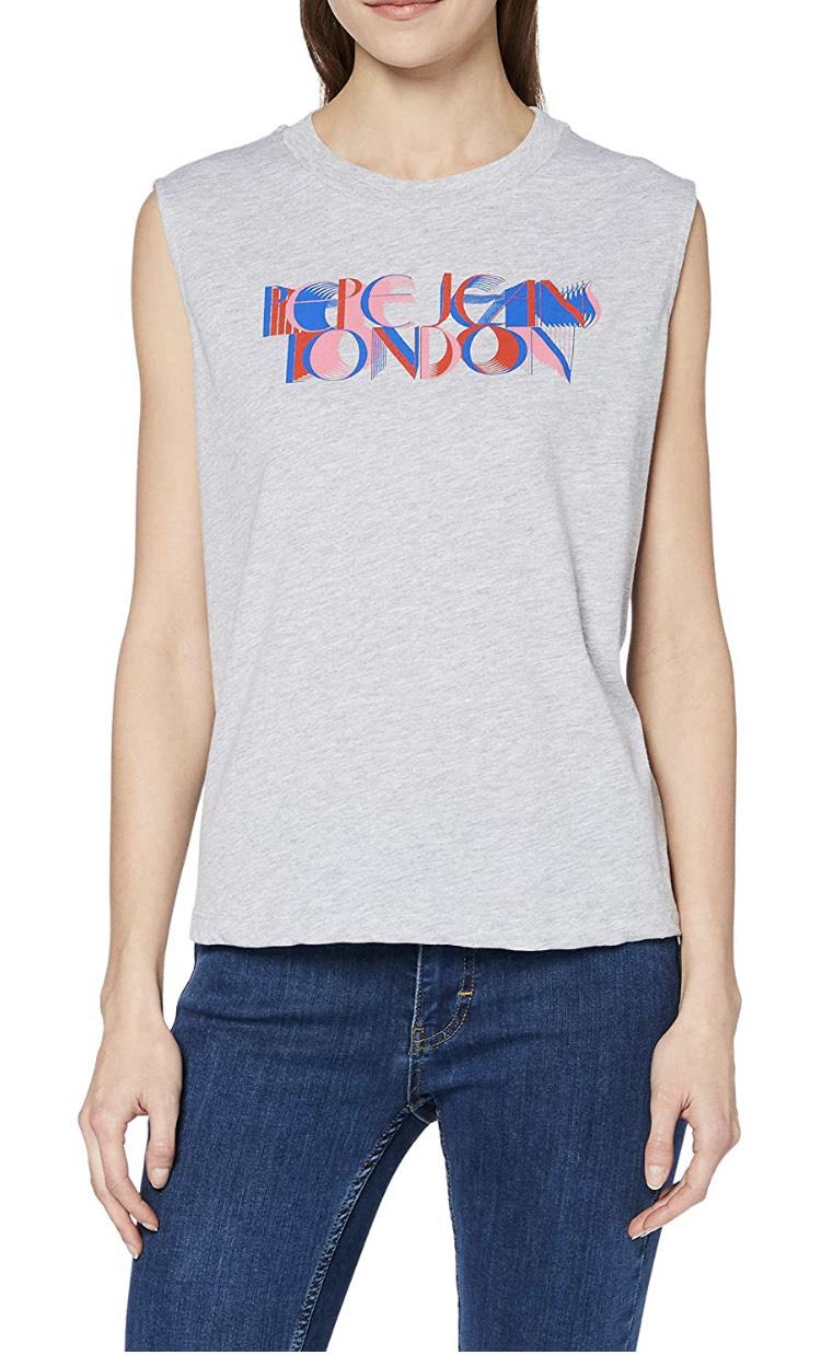 Camiseta Pepe Jeans mujer Talla L (XL en descripción )