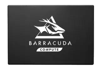 Disco duro SSD 240 GB - Seagate BarraCuda Q1, SATA a 6Gb/s, Escritura 550MB/s, 3D QLC, Negro