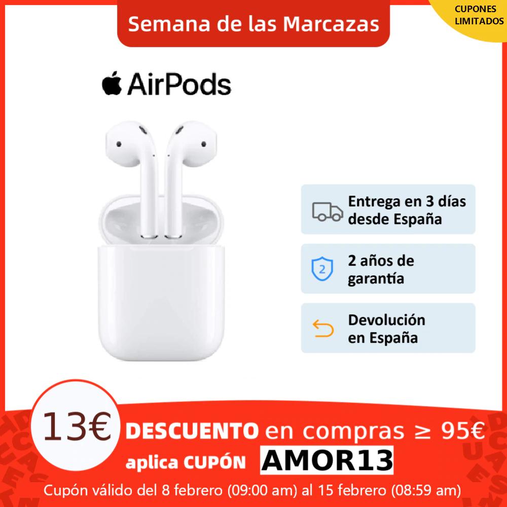 Apple AirPods v2 desde España por 106,99€