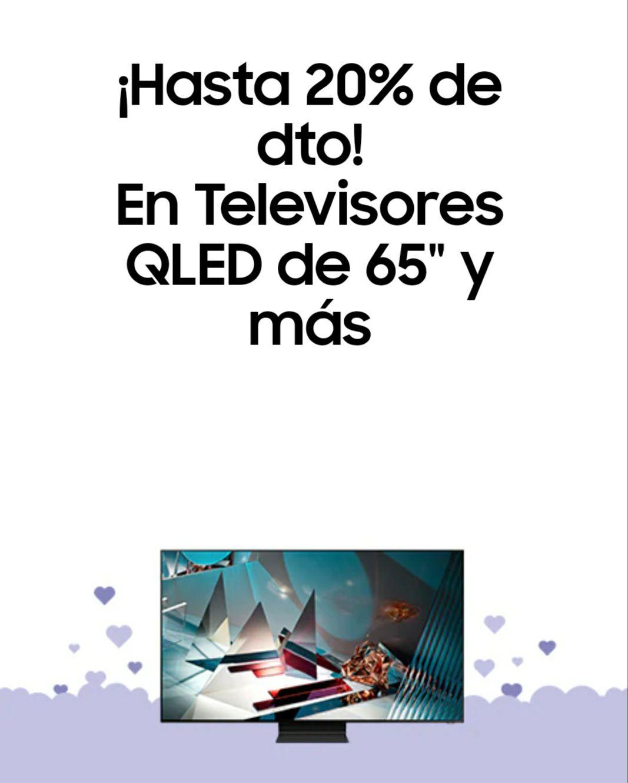"""Hasta 20% de dto! En Televisores QLED de 65"""" y más"""