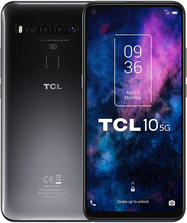 TCL 10 5G 6GB - 128GB solo 199€