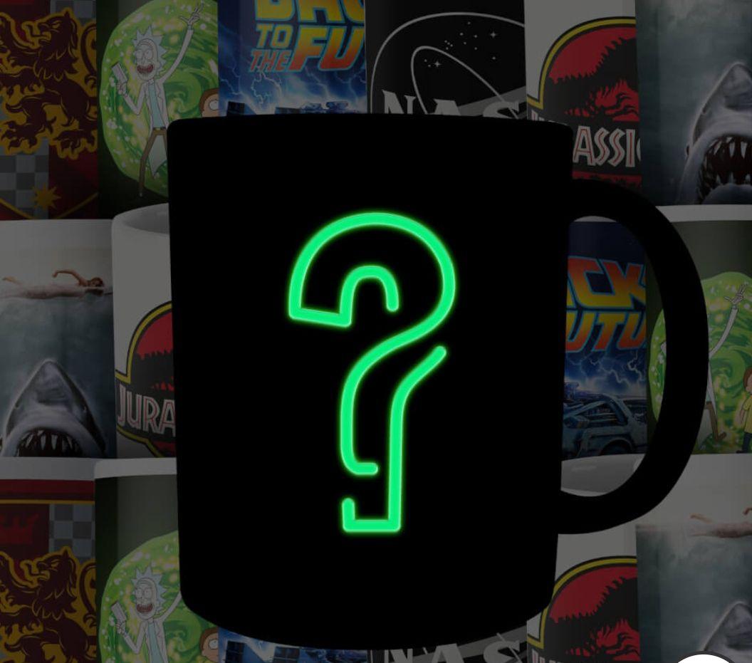 4 tazas misteriosas con licencia de grandes marcas Geek