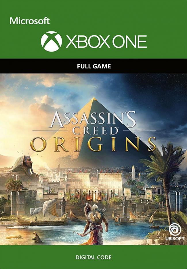Assassins Creed Origins Xbox One. Descarga digital.