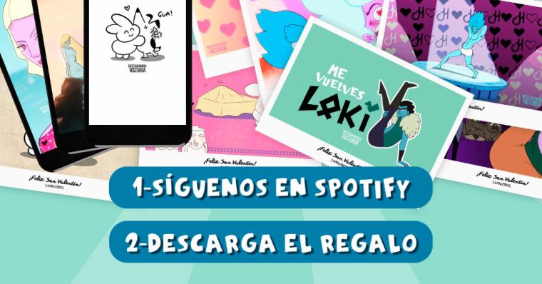 ¡Regalo digital de San Valentín de la mano de Destripando La Historia (DLH)!