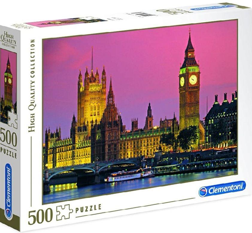 Clementoni - Londres Puzzle 500 Piezas