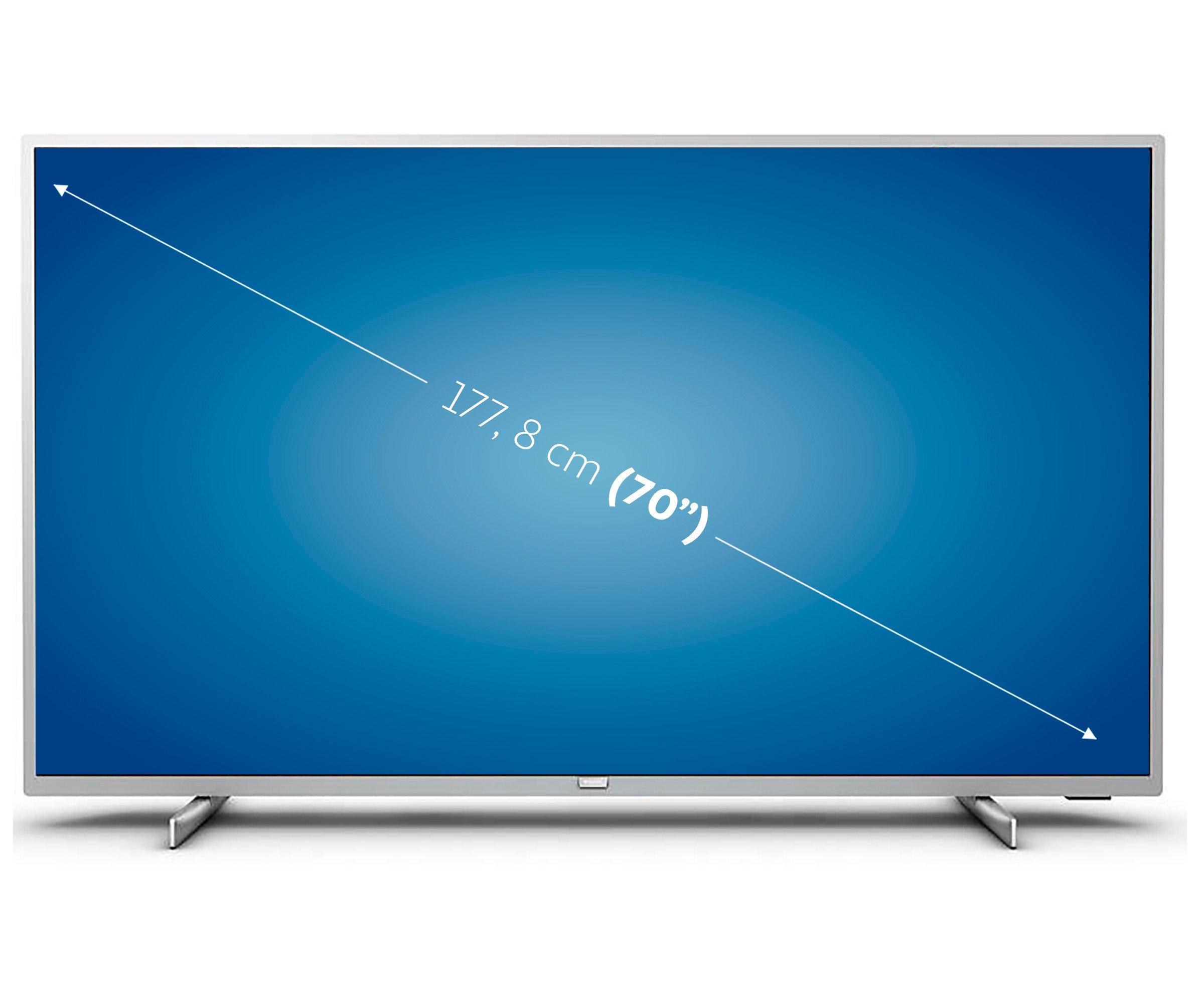 "Televisión 177,8 cm (70"") LED PHILIPS 70PUS7555 4K, HDR, SMART TV"