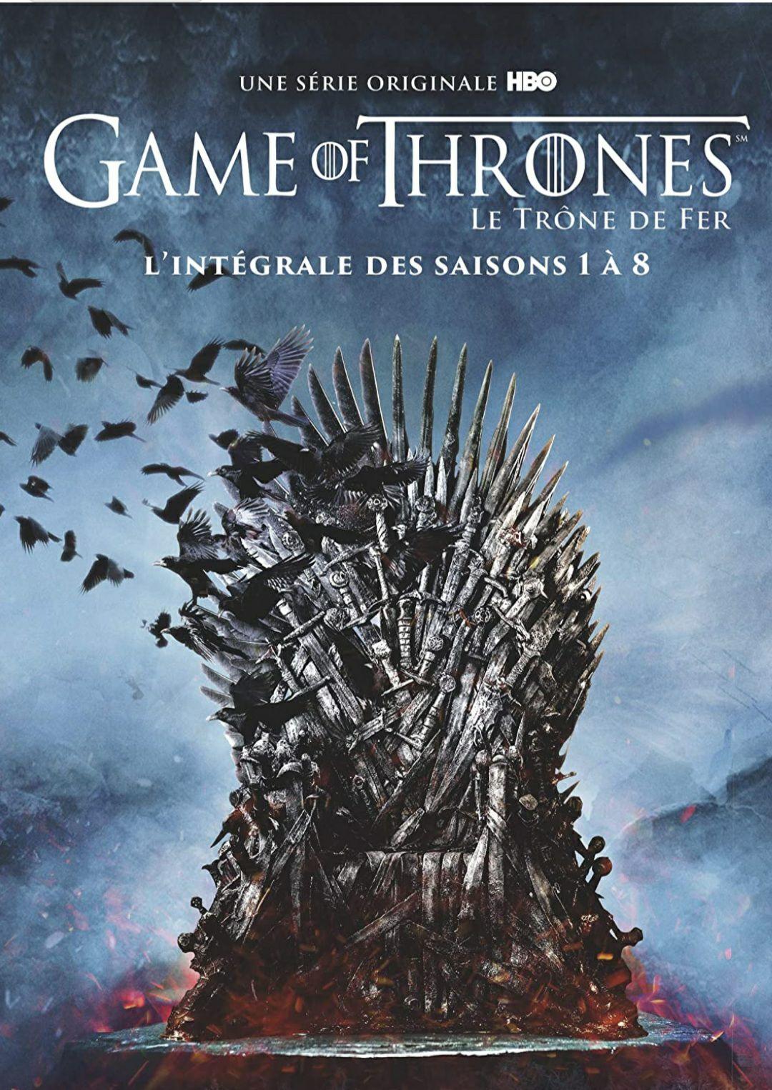 Game of Thrones (Le Trône de Fer) - L'intégrale des saisons 1 à 8 [Francia] [DVD]