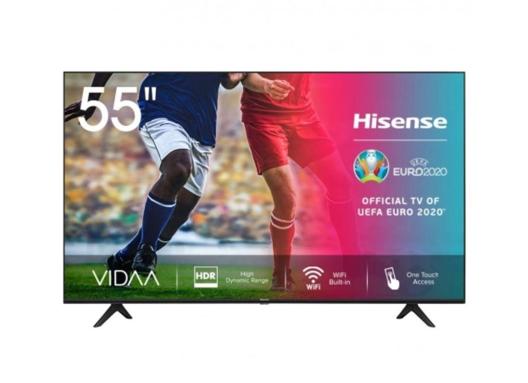 TV LED - HISENSE 55A7100F de 55 Pulgadas, 4K, SMART TV