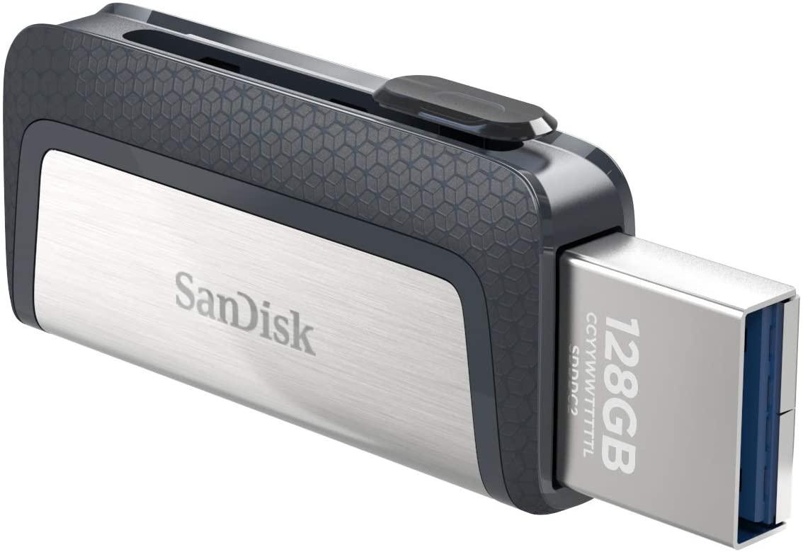 USB 3.1 Dual Sandisk Ultra 64GB - Tipo C por solo 8,99€