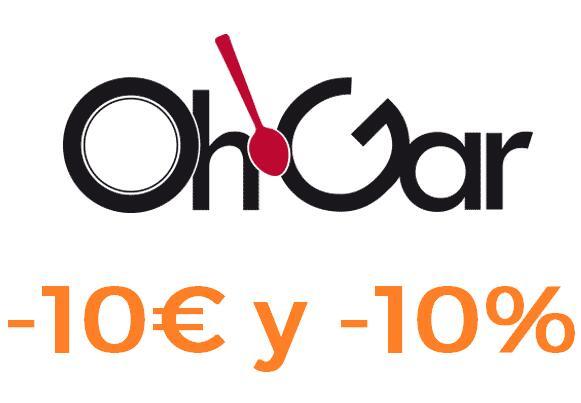 10€ gastando 50€ y 10% extra en toda la web excepto Oportunidades