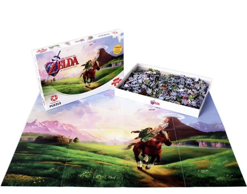 Puzzle 1000 piezas Zelda