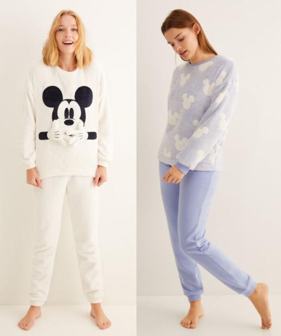 Pijama polar Women'secret solo 9.4€