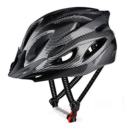 RaMokey Casco de bicicleta para adultos, hombre y mujer, cuerpo de poliestireno expandido + carcasa de policarbonato, (Mínimo Historico )